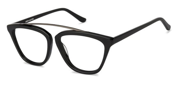 The Winter Gaze Collection-Wayfarer-Gunmetal Black-EG