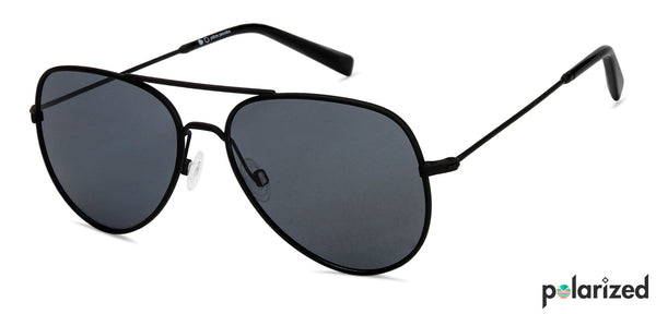 -Aviator-Matte Black Grey-SG