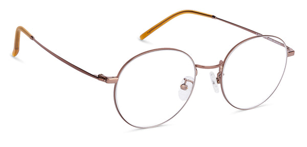 Eyeglasses For Women-Round-Silver-EG