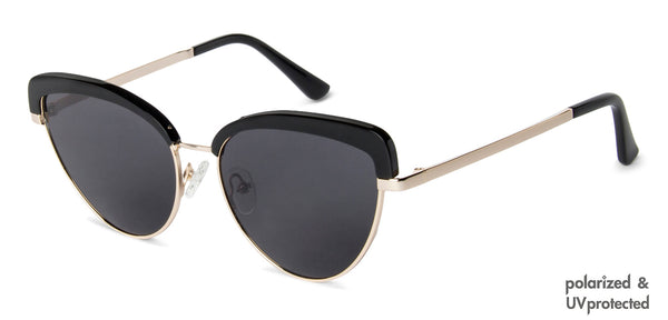 Sunglasses For Men-Rectangle-Brown Gold-SG