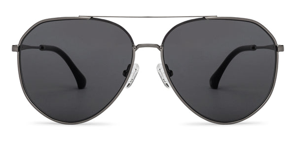 Sunglasses For Men-Aviator-Gunmetal black-SG