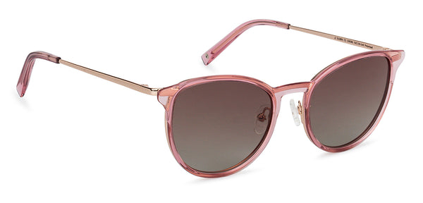 Sunglasses For Women-Cat Eye-Pink Transparent-SG