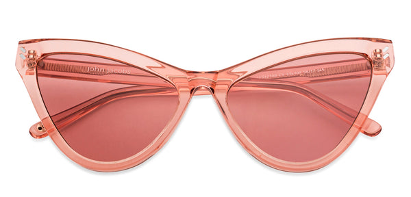 -Cat Eye-Pink Transparent-SG