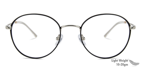Eyeglasses For Women-Round-Gold-EG