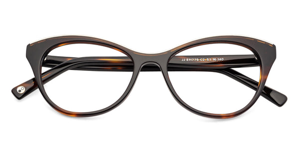 Cateye Eyeglasses-Cat Eye-Black-EG