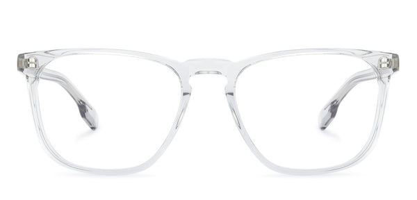The Textured View Collection-Wayfarer-Transparent-EG
