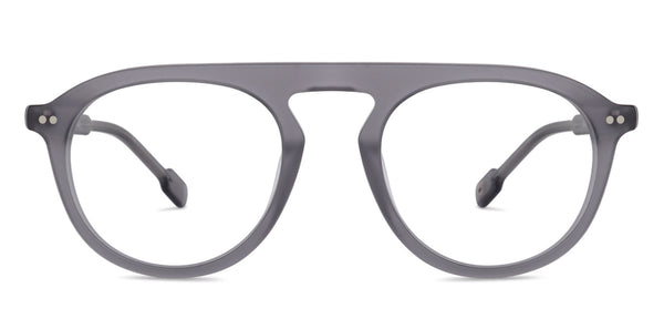 Eyeglasses For Women-Round-Grey-EG