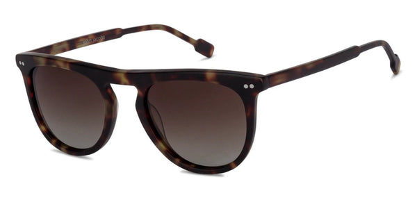 Round Sunglasses-Round-Black-SG
