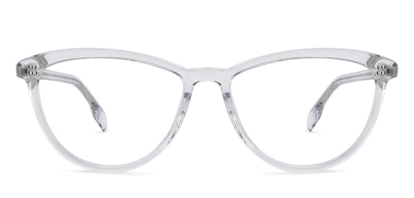 Cateye Eyeglasses-Cat Eye-Transparent-EG