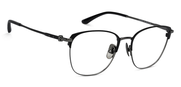 Eyeglasses For Women-Wayfarer-Gunmetal Black-EG