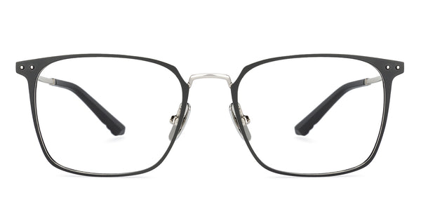 Eyeglasses For Men-Rectangle-Black Gold-EG