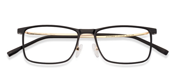 The Textured View Collection-Rectangle-Black Gold-EG