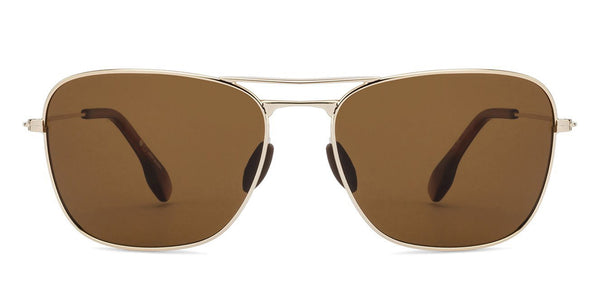 Sunglasses For Men-Rectangle-Brown-SG