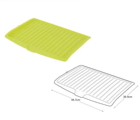Durable Drying Mat With Drainer Green Singapore Eezee