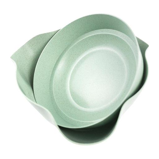 HANDYLAZY 2 in 1 Bowl System - Green, HippoMart - HippoMart.SG - Premium Item at Direct Factory Price