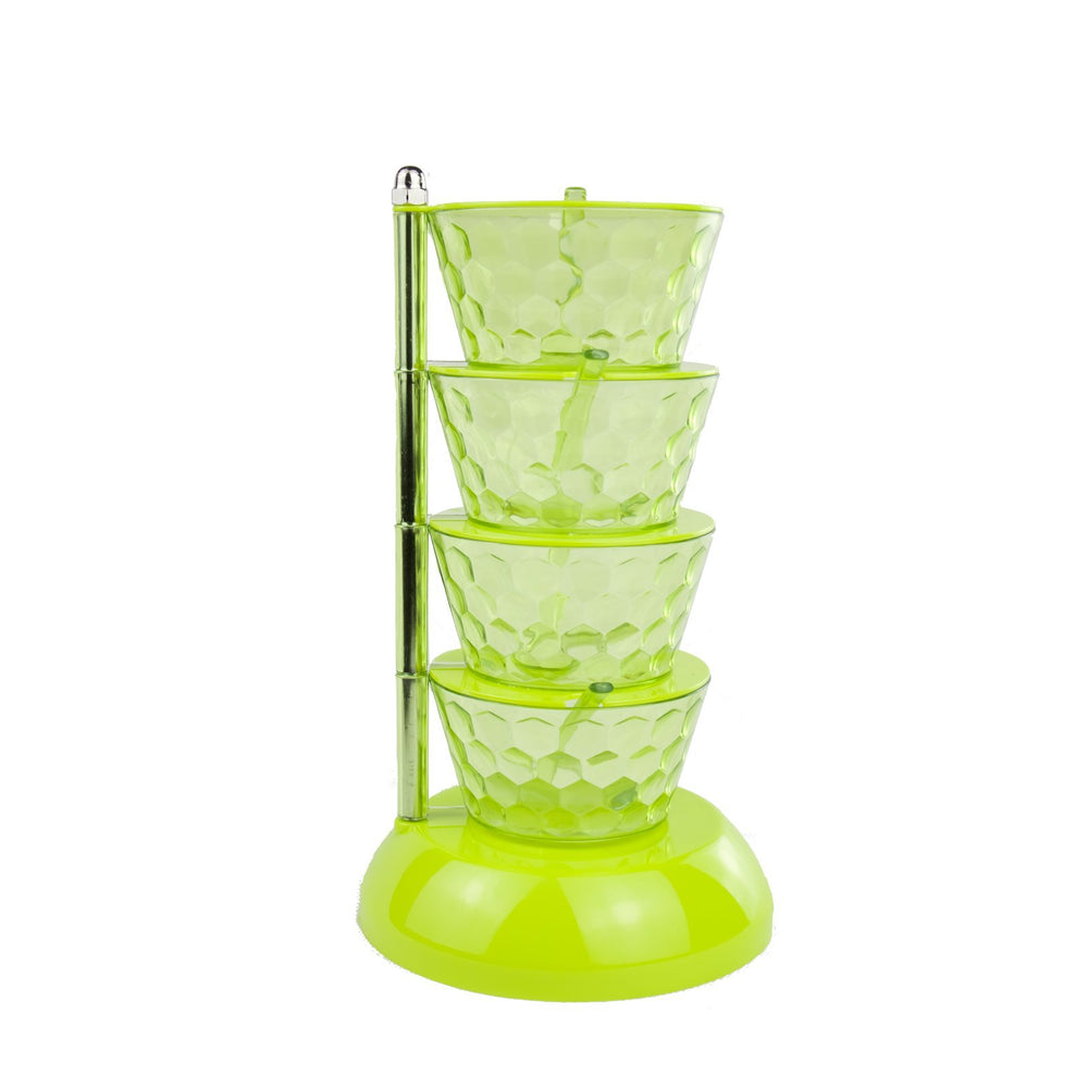 Multi-level Spice & Condiment Container - Green
