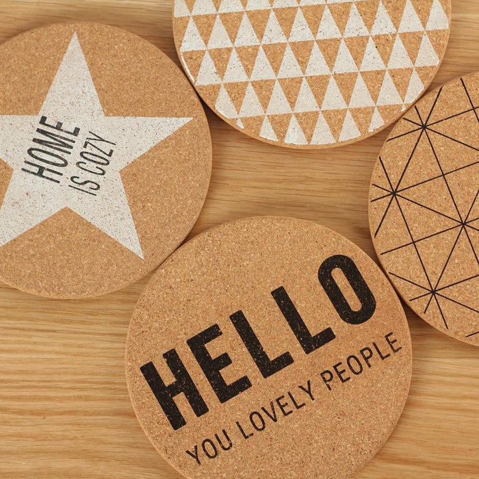 Zakka Nordic Pot Coaster in Hollywood Star Design