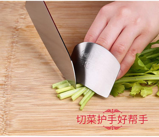 Professional Finger Guard & Protector for Fast Cutting/Slicing in SUS304 Stainless Steel, HippoMart - HippoMart.SG - Premium Item at Direct Factory Price