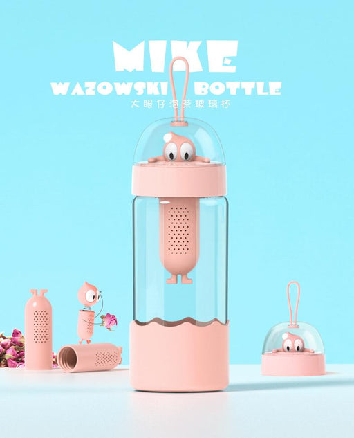Mike Wazowski Food Grade BPA Free Infuser 370ml Water Bottle - Rose, Hippomart - HippoMart.SG - Premium Item at Direct Factory Price