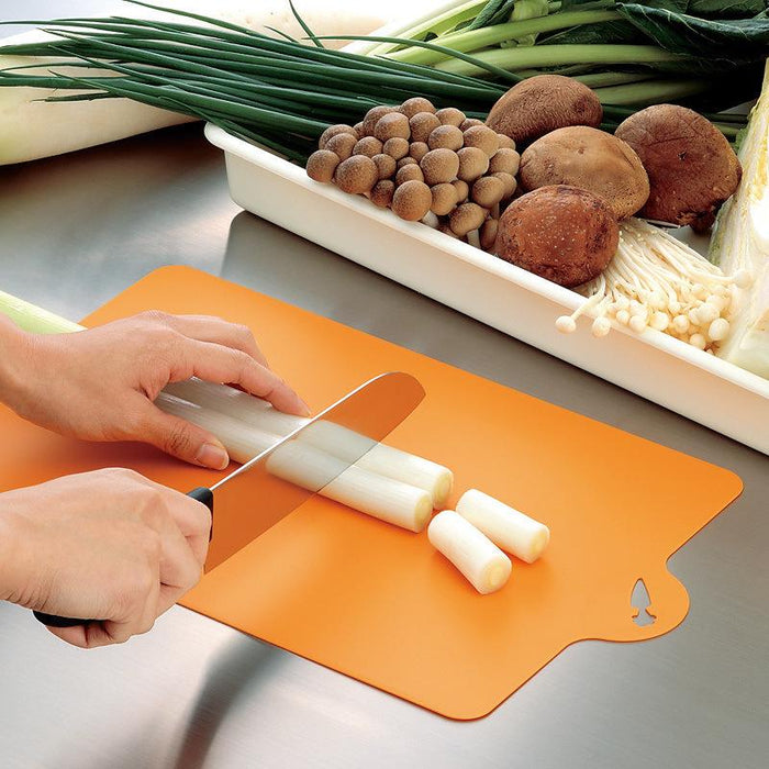 PP Food Grade Flexible Cutting Board - Orange, HippoMart  - HippoMart.SG - Premium Item at Direct Factory Price