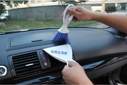 Vehicle Mini Brush & Dustpan, Hippomart - HippoMart.SG - Premium Item at Direct Factory Price