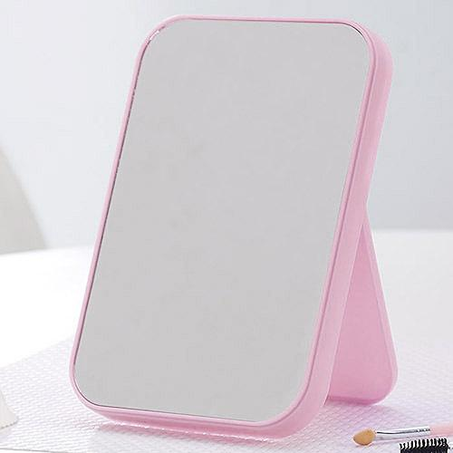Basic Standing Mirror with Adjustable Stand - Pink, HippoMart  - HippoMart.SG - Premium Item at Direct Factory Price
