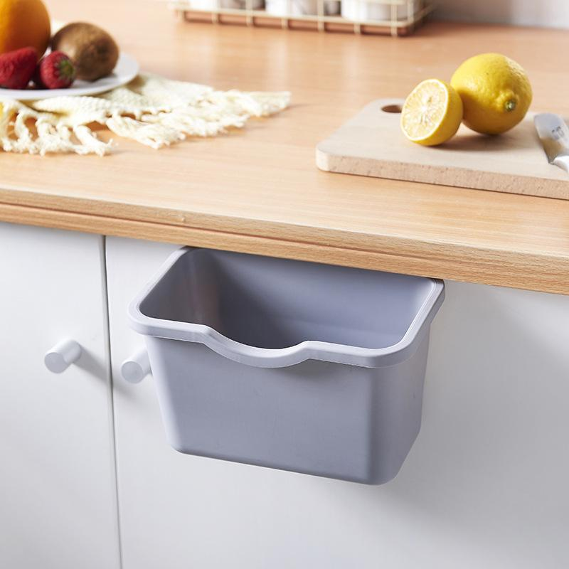 Durable PP Food Preparation Storage Container/Trash Bin/Accessories Holder - Grey, HippoMart - HippoMart.SG - Premium Item at Direct Factory Price