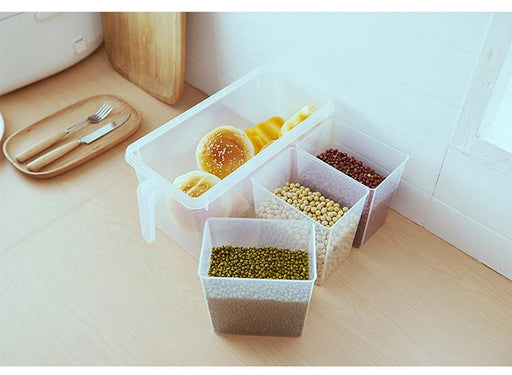 Multi-Purpose Food Grade ABS Plastic Fridge Storage Container (Without Divider)