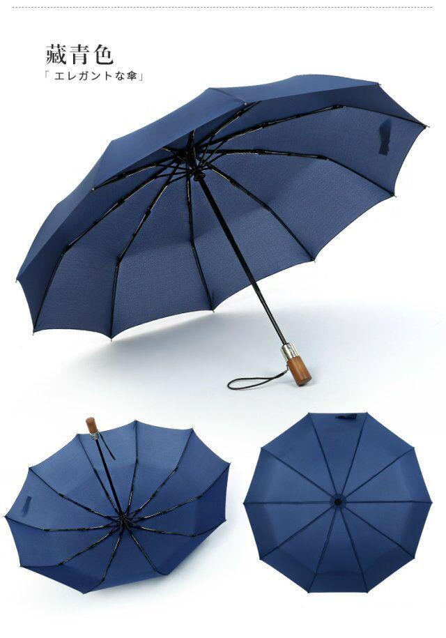 Travel Umbrella Made With Premium 190T Pongee Fabric - Dark Blue, Hippomart - HippoMart.SG - Premium Item at Direct Factory Price