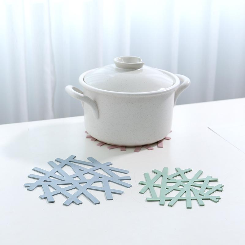 Modeco Designer PP Heat Resistant Trivet - Blue, HippoMart  - HippoMart.SG - Premium Item at Direct Factory Price