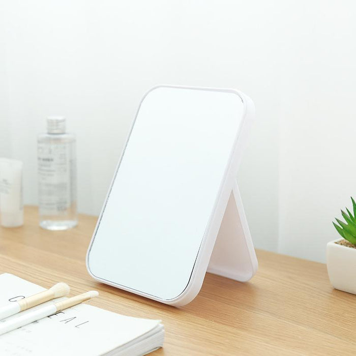 Basic Standing Mirror with Adjustable Stand - White, HippoMart - HippoMart.SG - Premium Item at Direct Factory Price