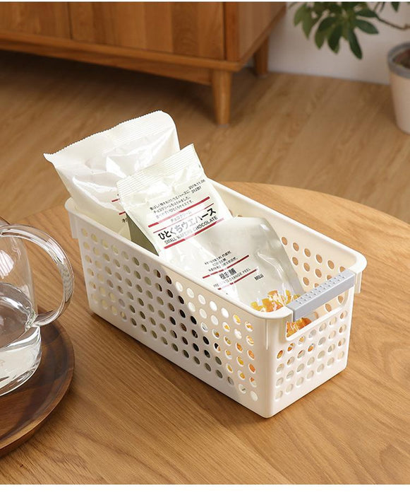Kitchen Perforated PP Slim Profile Storage Basket - Medium, Hippomart - HippoMart.SG - Premium Item at Direct Factory Price