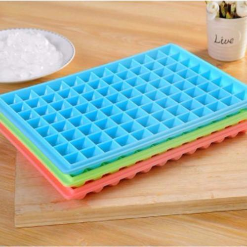 Food Grade BPA-Free Big Family 96 Cubes Ice Maker (Blue), HippoMart - HippoMart.SG - Premium Item at Direct Factory Price