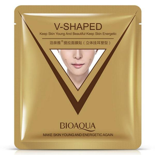 BIOAQUA 2 in 1 V-Shape Facial Slimming & Moisturising Mask (4pcs in a pack)