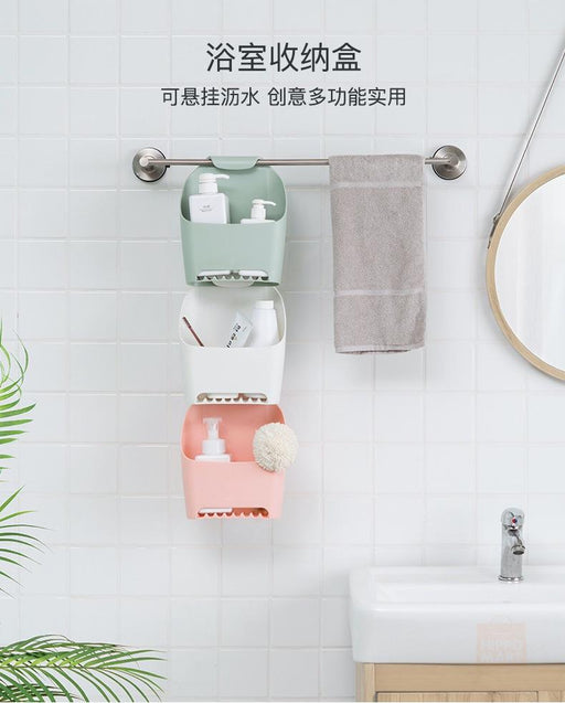 Bathroom Essential Extendable Hanging Caddy - Grey, Hippomart - HippoMart.SG - Premium Item at Direct Factory Price
