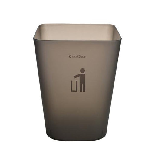 Frosted Waste Paper Bin - Black, HippoMart - HippoMart.SG - Premium Item at Direct Factory Price