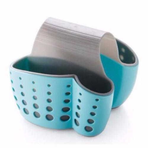 ABS Kitchen/Pantry Designer Saddle Basin Sponge Caddy, HippoMart - HippoMart.SG - Premium Item at Direct Factory Price