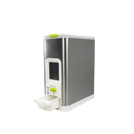 Rice Dispenser-10KG-White, EKO - HippoMart.SG - Premium Item at Direct Factory Price