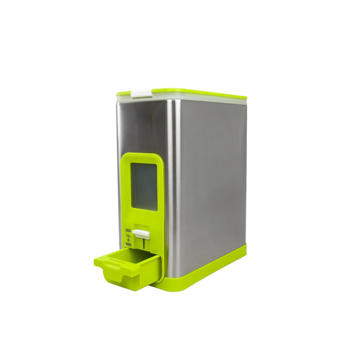 Rice Dispenser-10KG-Lime, EKO - HippoMart.SG - Premium Item at Direct Factory Price