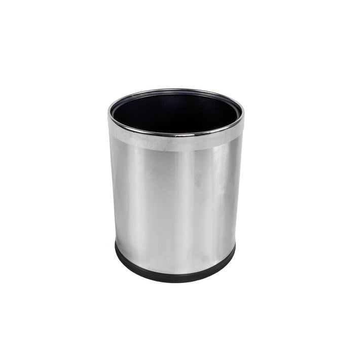 Stainless Steel Room Bin- 8L, HippoMart - HippoMart.SG - Premium Item at Direct Factory Price