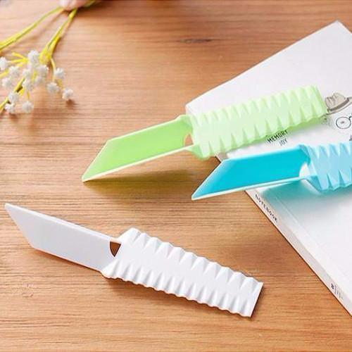 Multipurpose Non-Blade Fruit Cutting Tool (Blue), HippoMart - HippoMart.SG - Premium Item at Direct Factory Price
