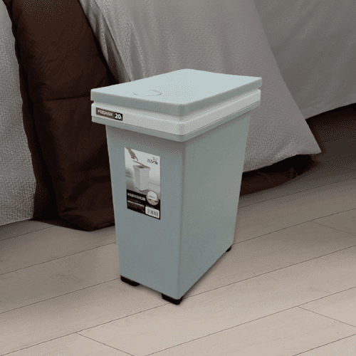 Pelican Touch Bin - 20L (Grey/Blue), DASH - HippoMart.SG - Premium Item at Direct Factory Price