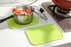Silicone Heat Resistant Non-slip Trivet Mats/Pot Coaster - Green, HippoMart - HippoMart.SG - Premium Item at Direct Factory Price