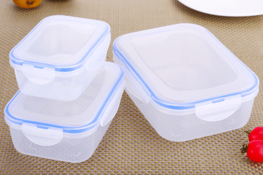 Chef's Food Grade BPA-Free/Leakproof 3 Piece Food Storage Container Set- Microwave, Freezer and Dishwasher Safe (Large/Medium/Small)