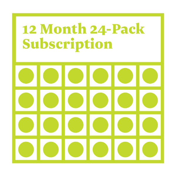 Mixed Case (24 beers) Subscription - 12 Months  Auto renew