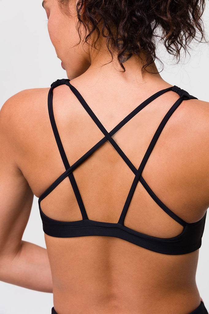 ONZIE Mudra Bra Black Snake | New Onzie Collection | Shop Online SPORTLES.com