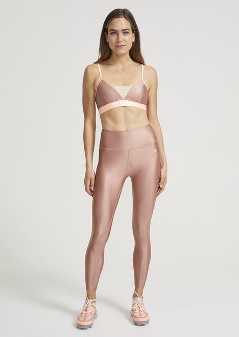 P.E Nation Shiny Legging Pink