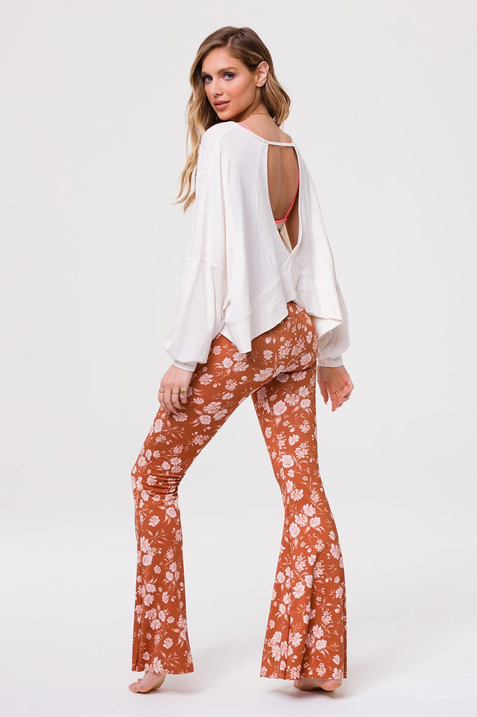 ONZIE Om Top Ivory | New Onzie Collection | Shop Online SPORTLES.com