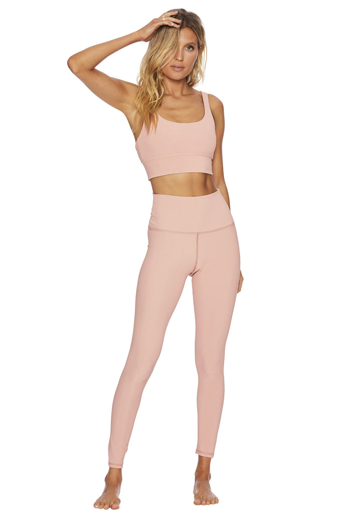 BEACH RIOT Ribbed Ayla Legging Pink | Shop at Sportles.com
