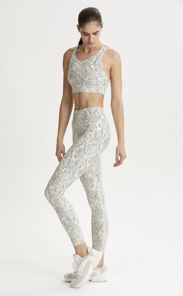 VARLEY 7/8 Century Legging Mosaic Snake | Shop at SPORTLES.com